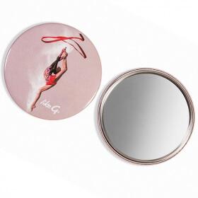 Miroir de poche personnalisé 6cm - Em création