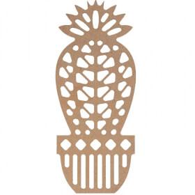 Cactus silhouette à décorer - Em création