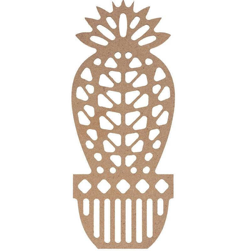Cactus silhouette à décorer