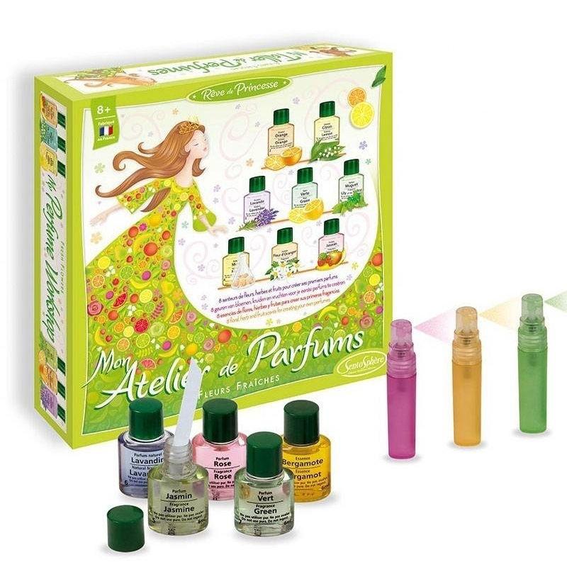 """Mon atelier de parfums """"Fleurs Fraiches"""" - Sentosphère"""