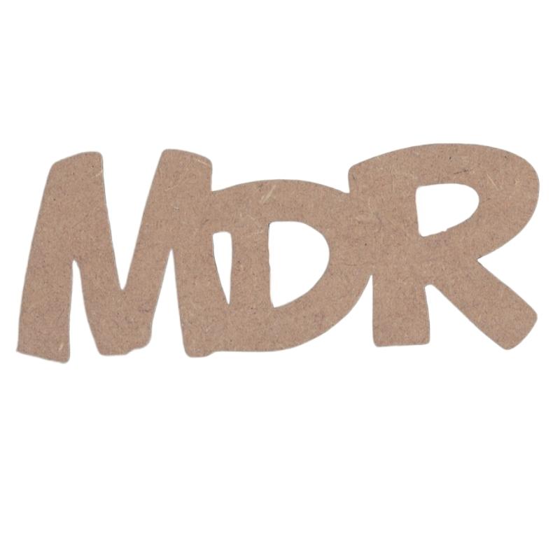 Décoration à peindre MDR - Em création