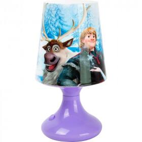 Lampe Reine des neiges - Disney Frozen - Em création