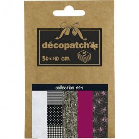 Papier décopatch Pocket - 4 - Loisirs créatifs - Em création