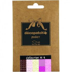Papier décopatch Pocket - 3 - Em création - Em création