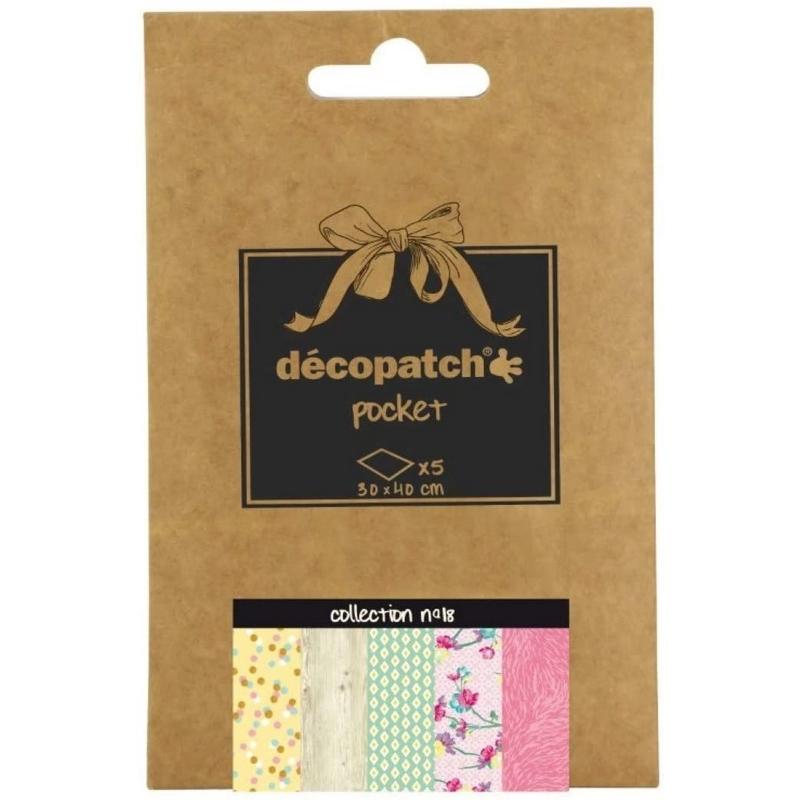 Papier décopatch Pocket - 18 - Em création