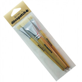 Pinceaux x3 pure soie - Brushes