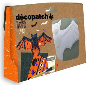 Mini-kit chauve-souris - Décopatch - Loisirs créatifs
