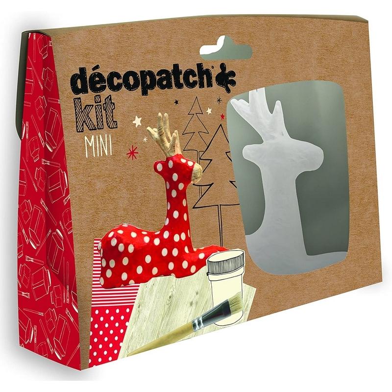 Mini-kit Renne - Décopatch - Loisirs créatifs