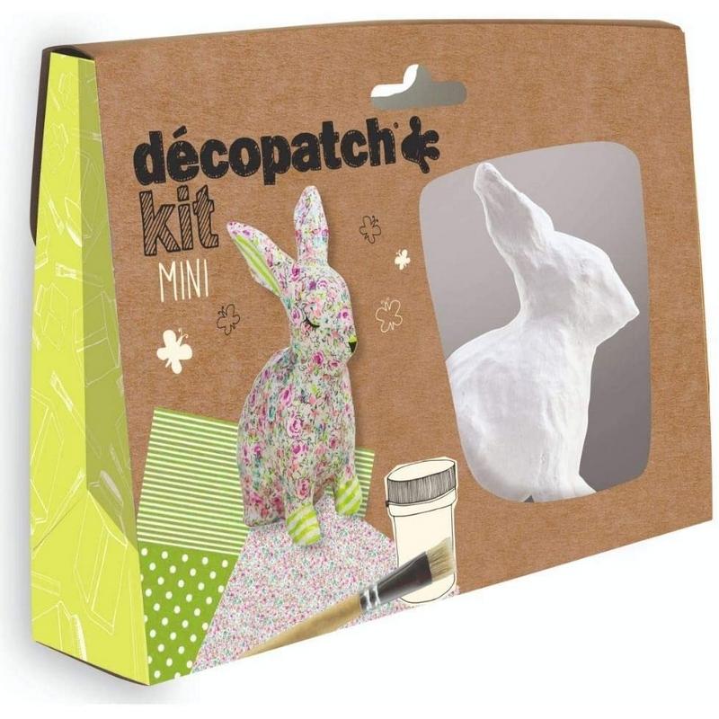 Mini-kit Lapin - Décopatch - Loisirs créatifs
