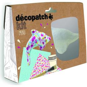 Mini-kit Dauphin - Décopatch - Loisirs créatifs