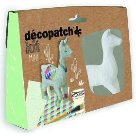 Mini-kit Lama - Décopatch - Loisirs créatifs