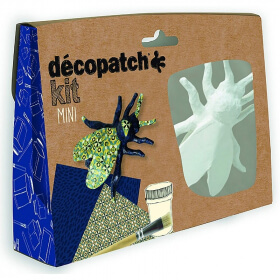 Mini-kit Abeille - Décopatch - Loisirs créatifs