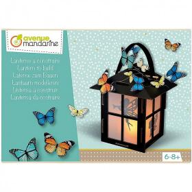 Lanterne à construire - Boite créative - Loisirs créatifs - Em création