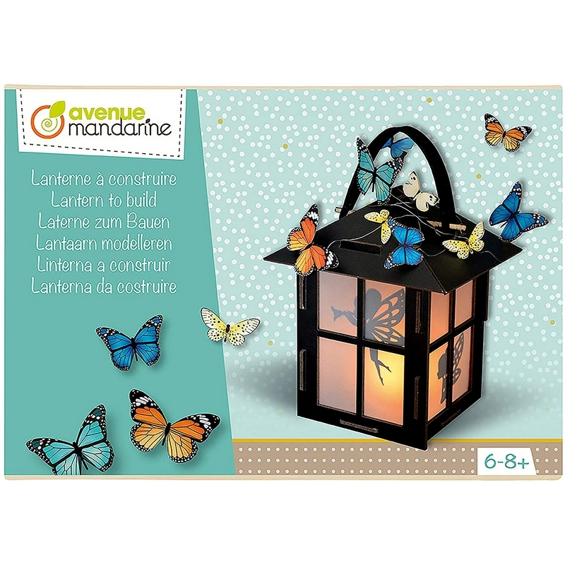 Lanterne à construire - Boite créative - Loisirs créatifs