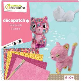Décopatch chats - Boite créative - Loisirs créatifs - Em création