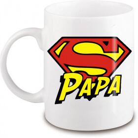 Mug pour Super PAPA - Idée cadeau papa - Angora - Em création