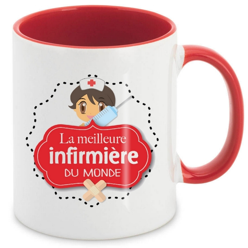 Mug Infirmière - angora