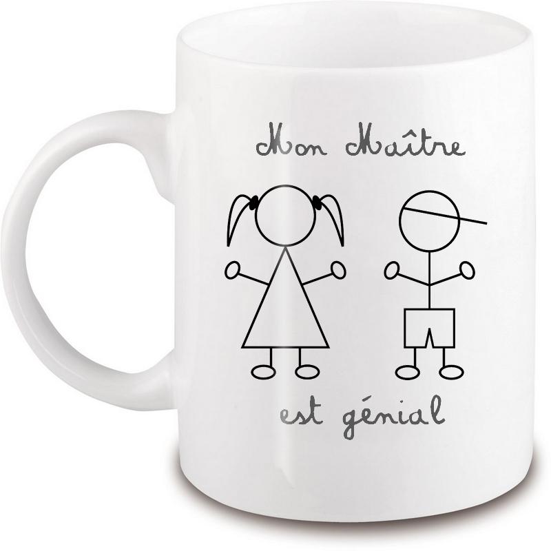 Mug Maître d'école - Idée cadeau - Em création