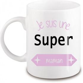Mug Maman - Cadeau Maman - Tasse Maman - Angora - Em création