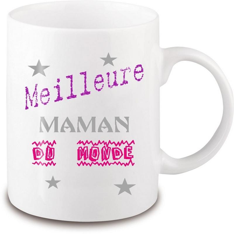 Mug meilleure maman du monde - Em création