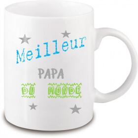 Mug pour le meilleur papa du monde - Em création - Em création