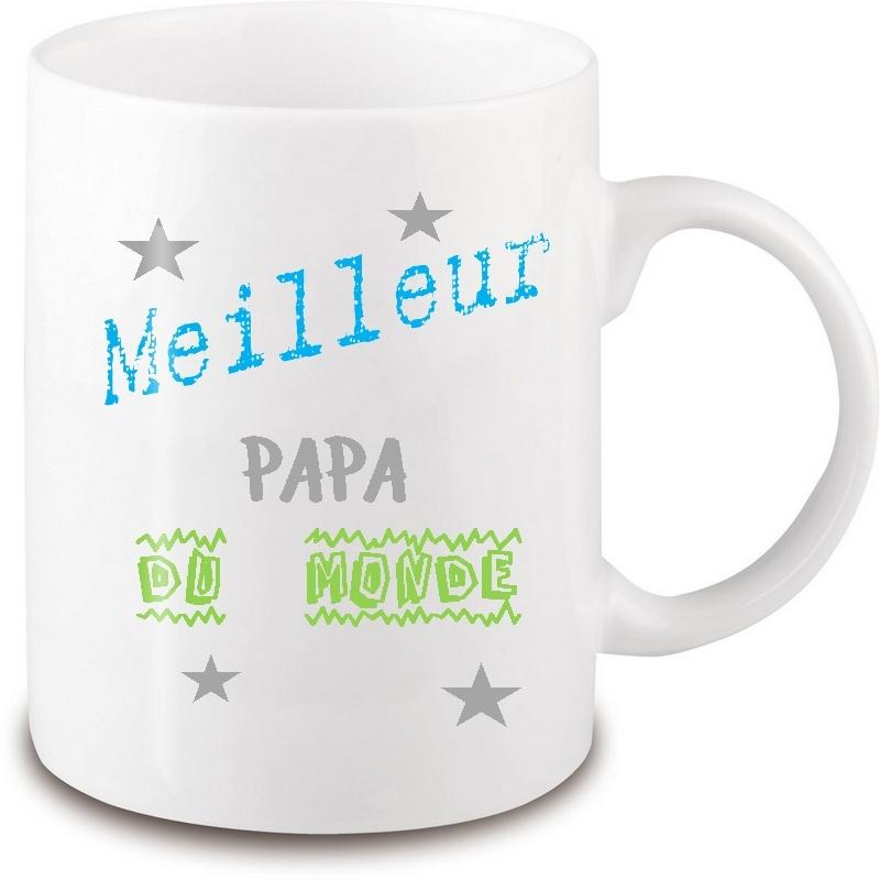 Mug pour le meilleur papa du monde - Em création