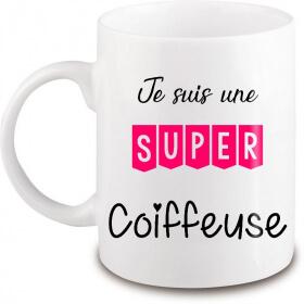Mug Coiffeuse - Cadeau Coiffeuse - Angora - Em création