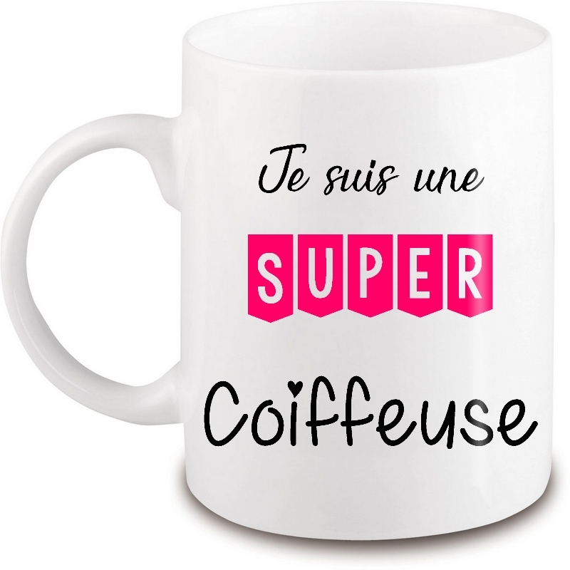 Mug Coiffeuse - Cadeau Coiffeuse - Angora
