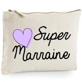 Pochette Marraine - Idée cadeau - Angora