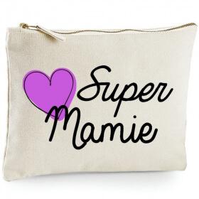 Pochette Mamie - Idée cadeau - angora - Em création