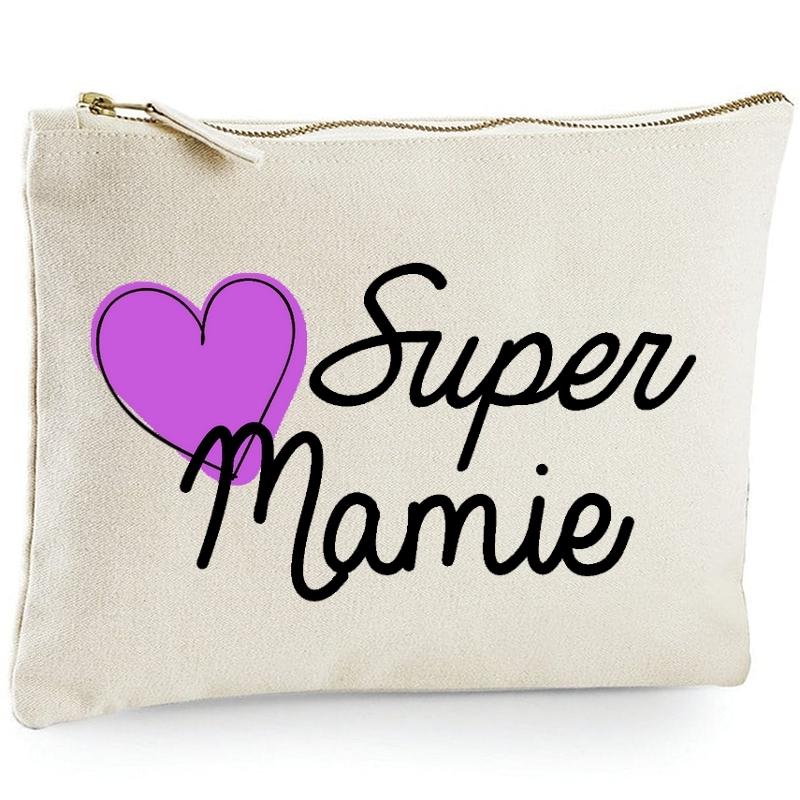 Pochette Mamie - Idée cadeau - angora