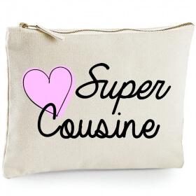 Pochette Cousine - Trousse Cousine - Idée cadeau - angora - Em création