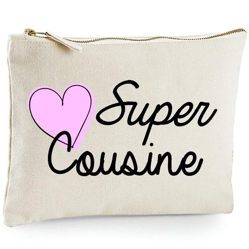 Pochette Cousine - Trousse Cousine - Idée cadeau - angora