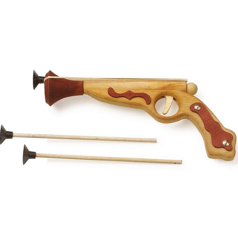 Pistolet de pirates - jouet en bois