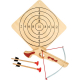 Le tir à l'arbalète, jouet en bois