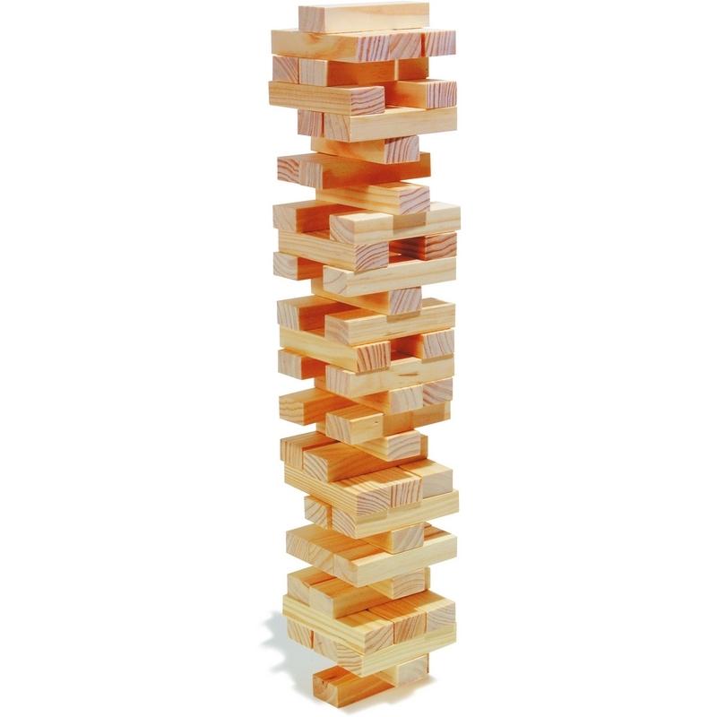 La tour bancale - jeux en bois - Em création