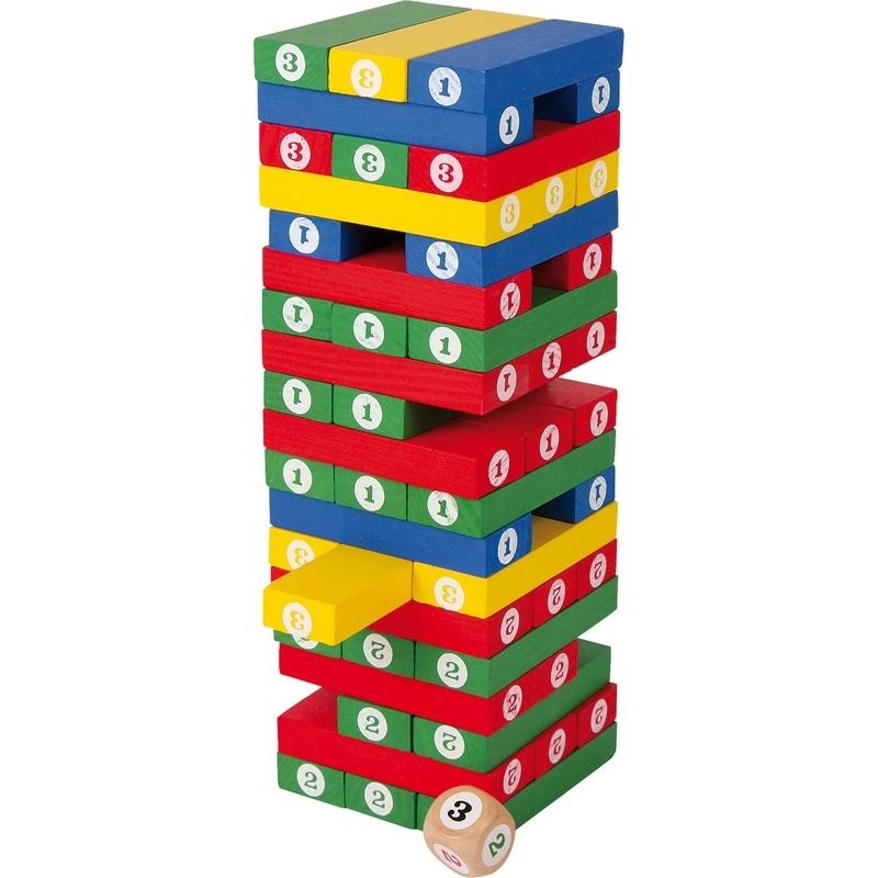 Tour Chiffres - Jeux enfant - En bois