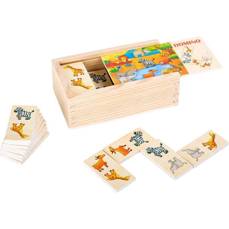 Dominos en bois - Jouet enfant