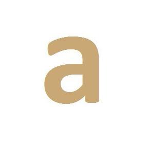 """lettre en bois """"em creation"""" A"""