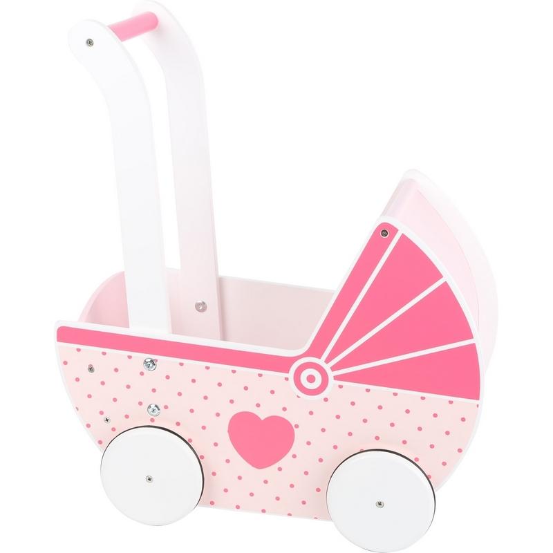 Landau de poupée en bois - jouet en bois pour enfant