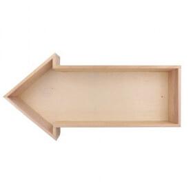 Flèche en bois à décorer - ARTEMIO - Em création