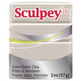 Pâte polymère Gris éléphant - Sculpey III - Em création
