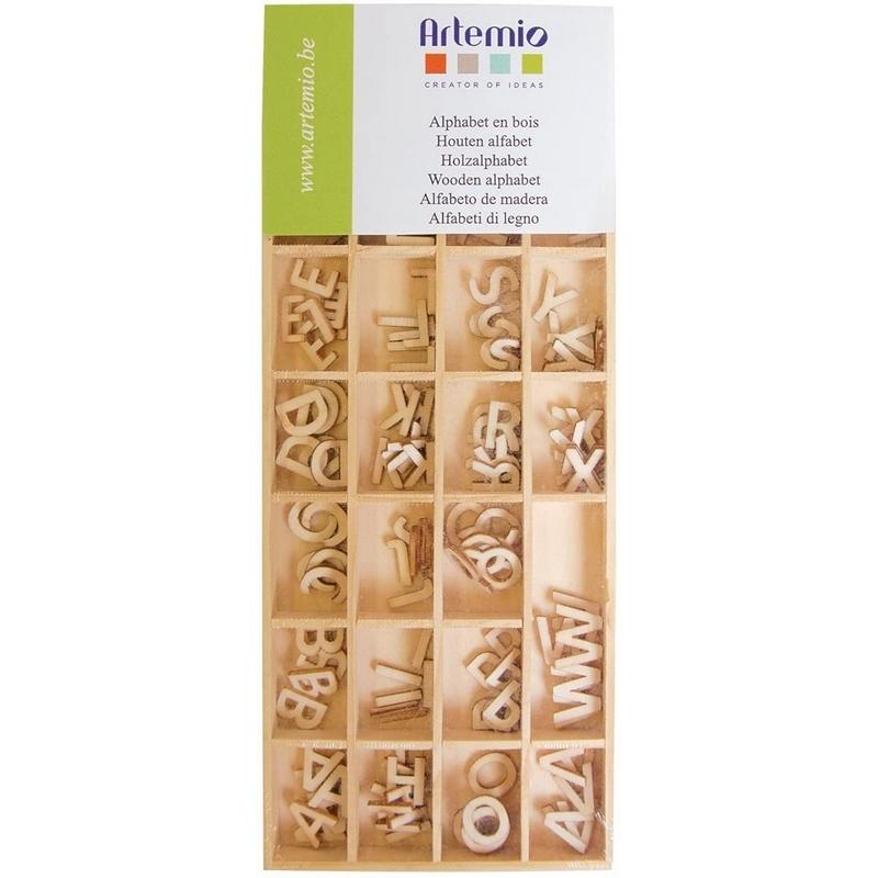 Alphabet à peindre 162ps - Artemio