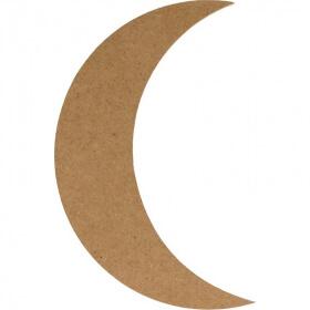 Lune à décorer en bois - Artemio - Em création
