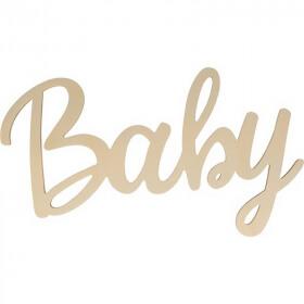 Baby à décorer - Mot Bébé à peintre - artemio - Em création