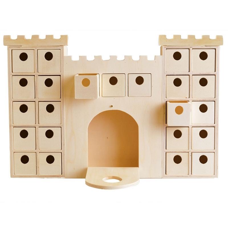 Château à décorer avec casier - artemio