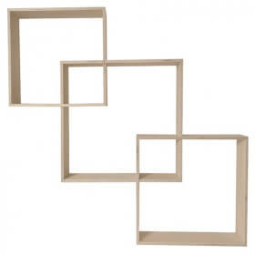 Etagères carrés imbriquer - Lot de 3 - Em création