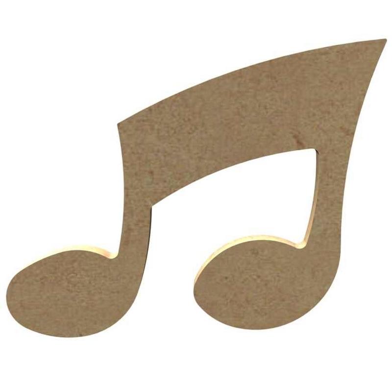 Note de musique à peindre - Gomille