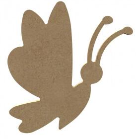 Papillon rigolo - Gomille - Em création