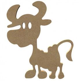 Vache à décorer - Gomille - Em création